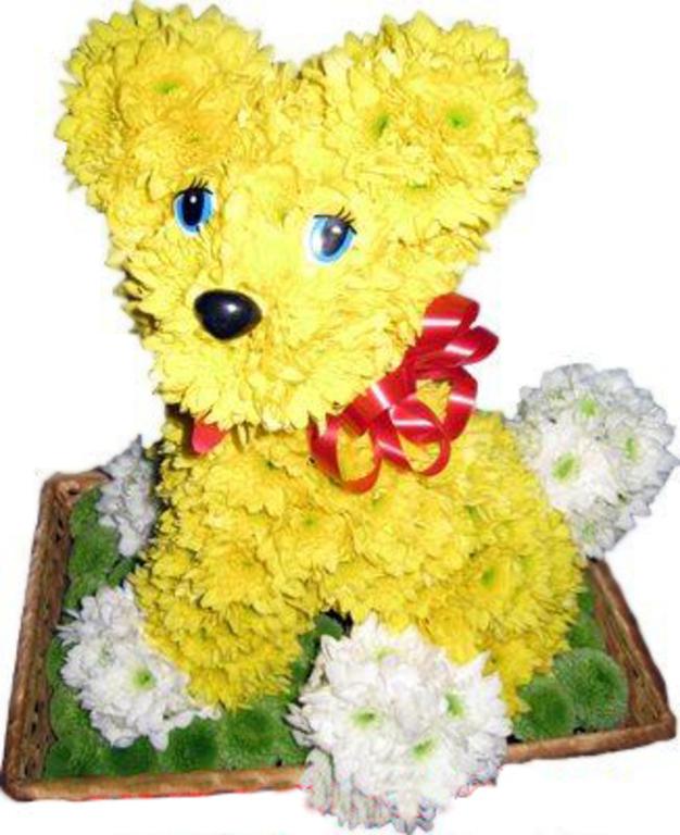 Доставка цветов в виде игрушки где в казани купить искусственные розы